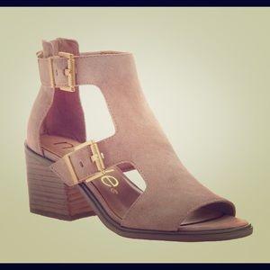 Nicole Jahida Block Heel Sandal